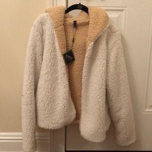 Zaful reversible bear coat